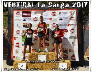 Podium VERTICAL La Sarga - General Masculino